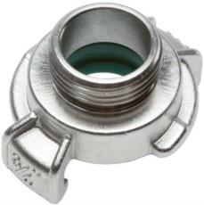 Schlauchkupplung Edelstahl G 1/2 Zoll AG