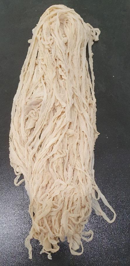 Schweinedarm 36/40 trocken gesalzen 91,4m