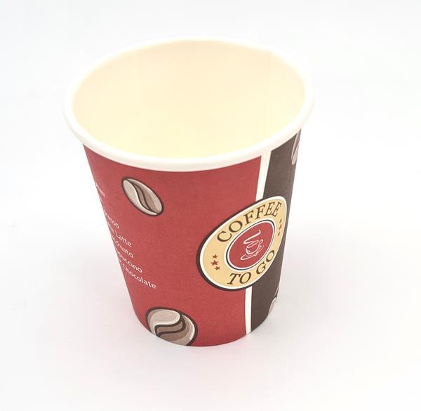 Kaffeebecher Coffee to go 0,2 Liter 50 Stück