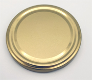Einwegdeckel gold für Einmachglas TO82