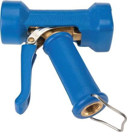 Wassersparpistole Kunststoff blau  1/2  Zoll