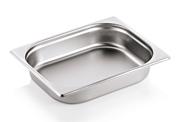 1/2 GN Behälter 65 mm Edelstahl Gastronomiebehälter