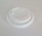 Deckel weiß für Kaffeebecher ToGo  0,2 Liter 100 Stück