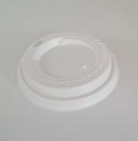 Deckel weiß für Kaffeebecher ToGo  0,3 und 0,4 Liter 100 Stück