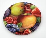 Deckel Obstmotiv für Einmachglas TO 82