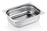1/2 GN Behälter Edelstahl 100 mm Gastronomiebehälter